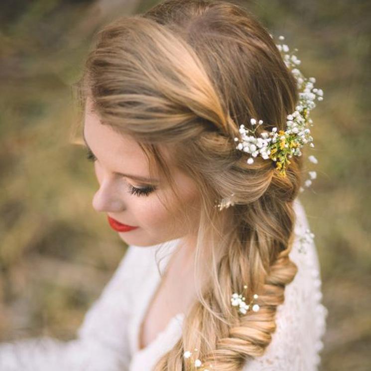 9be444585 Cuatro peinados de novia que nunca fallan