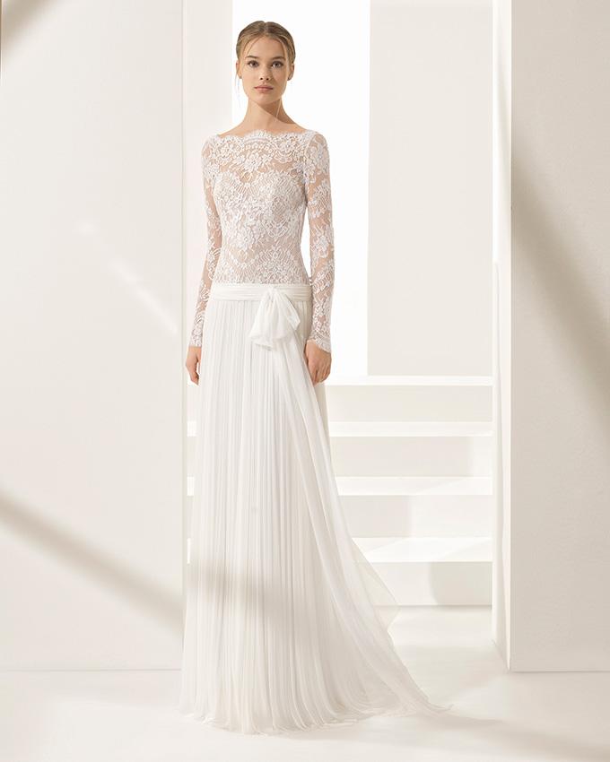 el vestido de novia que soñaste es de muselina y está en rosa clará