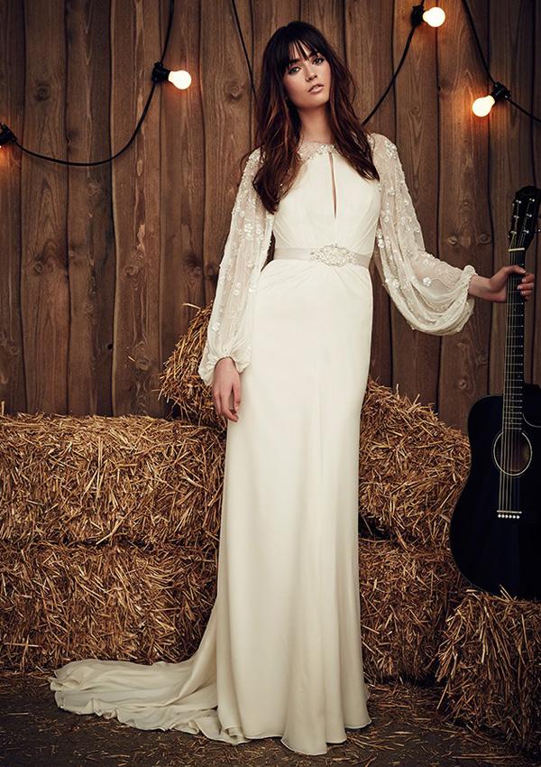 Vestidos de novia para tiempo de frio