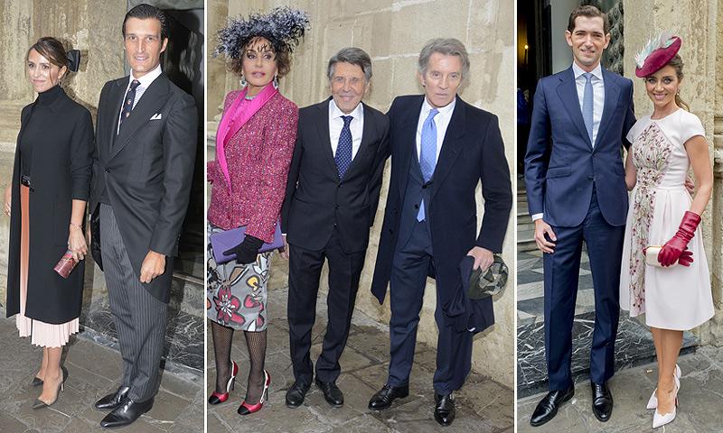 Laura Vecino, Naty Abascal, María Colonques... diferentes 'looks' de invitada para una boda en Sevilla
