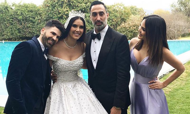 Vestido de novia de actrices mexicanas