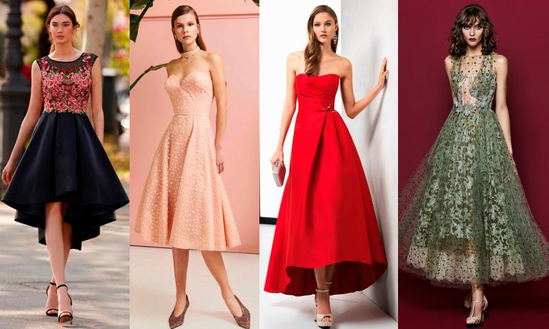 Firmas de moda vestidos fiesta