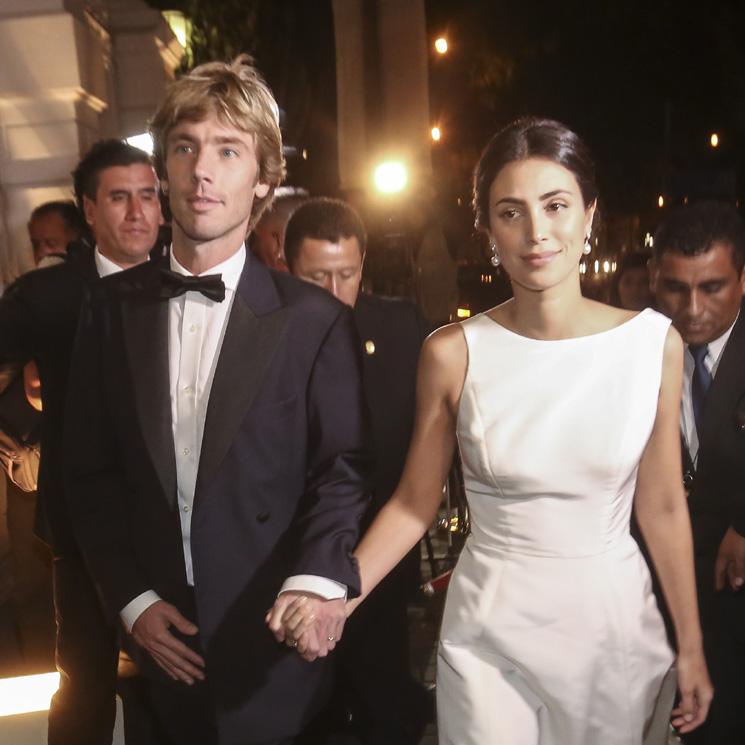 Clásico y sin adornos: así ha sido el tercer vestido de novia de Alessandra de Osma