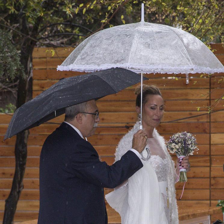 El sorprendente vestido de novia de Gemma Mengual en su boda con Enric Martín