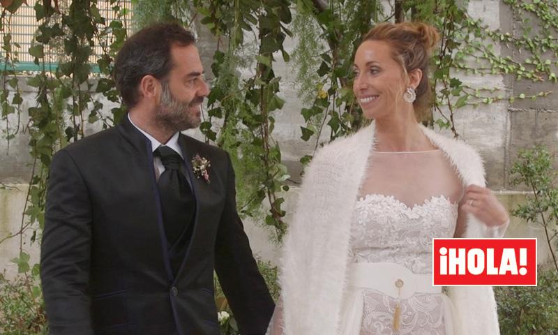 Lágrimas, emoción y mucho amor en la ceremonia de la boda de Gemma Mengual y Enric Martín