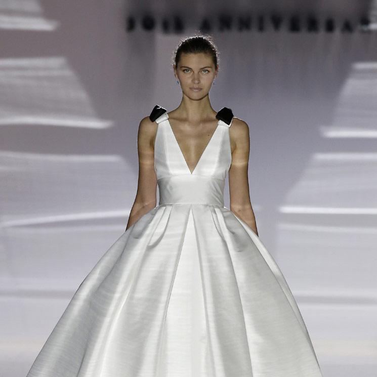 Barcelona Bridal Week: las nuevas siluetas de estilo princesa, por Jesús Peiró