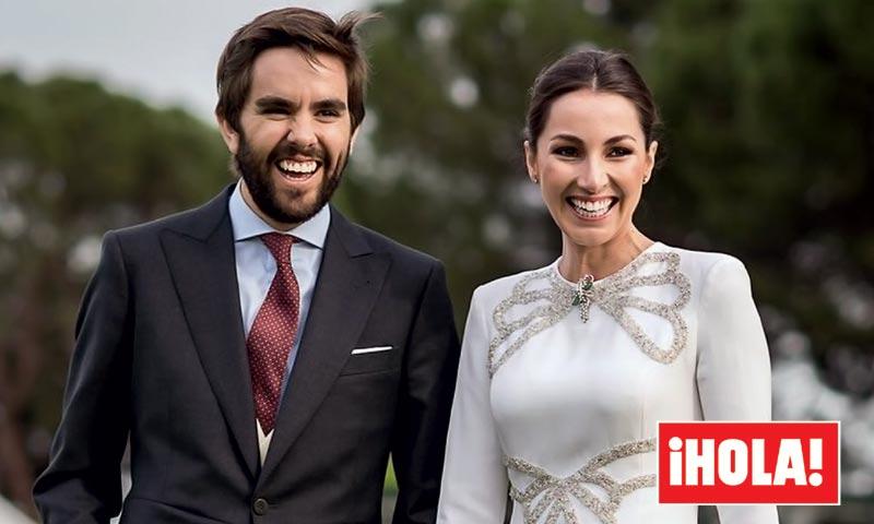¡En HOLA!, así fue la boda de Alejandra Romero, Duquesa de Suárez, y Pedro Armas