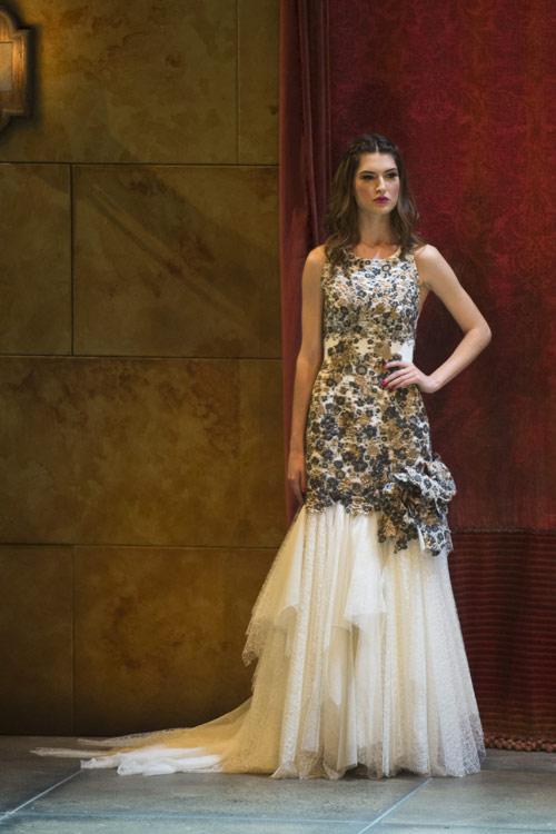barcelona bridal week: desfile jordi dalmau - foto