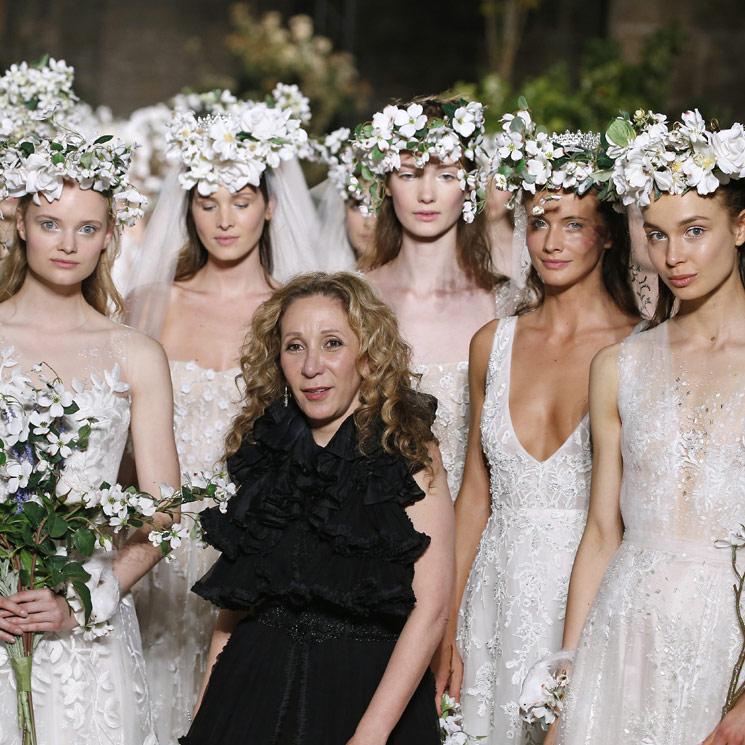 Reem Acra: 'Los vestidos de novia tienen que transmitir emociones y mucho amor'