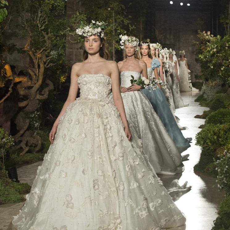 Reem Acra, la diseñadora de Hollywood, conquista Barcelona con su colección nupcial