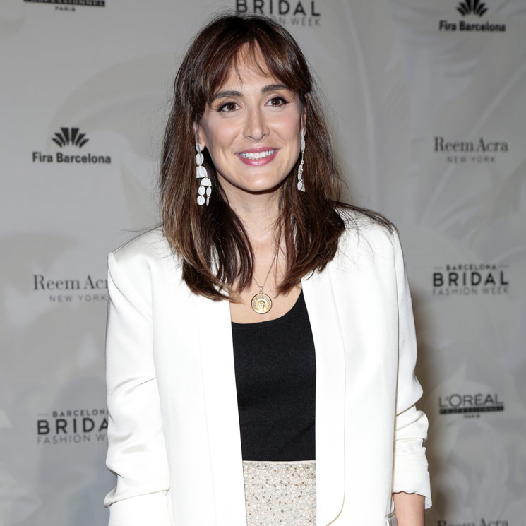 Tamara Falcó en el 'front row' de una de las diseñadoras más influyentes del mundo