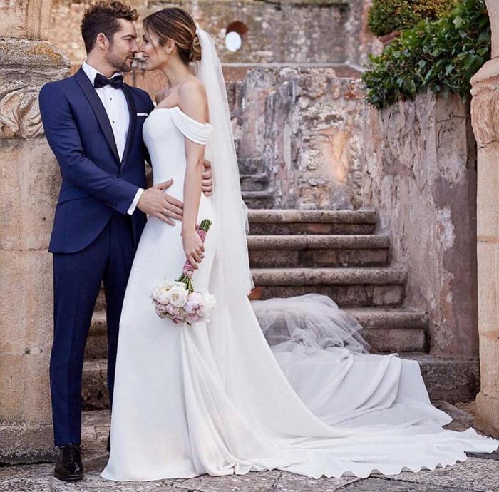 el vestido de novia de rosanna zanetti diseñado en exclusiva por