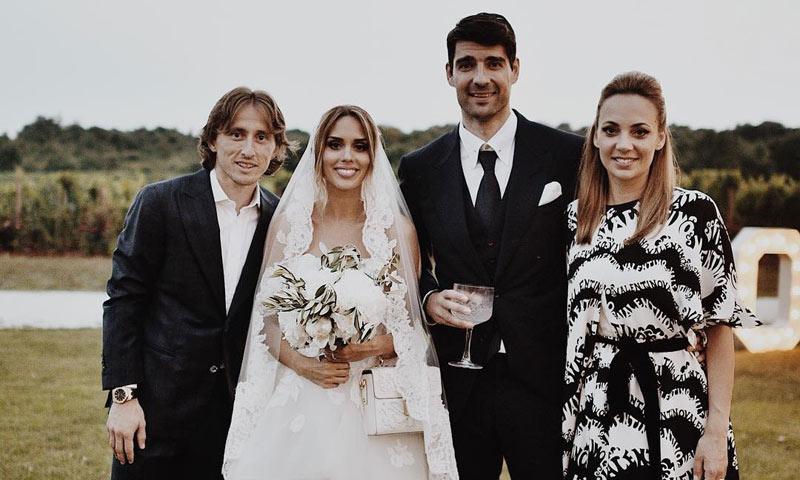 Luka Modric y sus compañeros de la Selección de Croacia se van de boda tras el éxito del Mundial