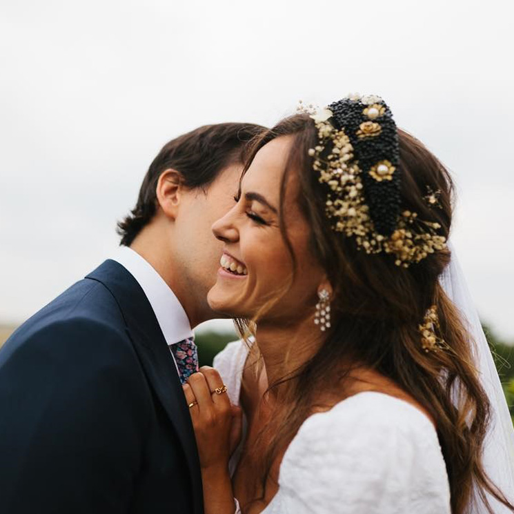 Las exclusivas joyas de Lara Losada, la 'wedding planner' que se convirtió en novia