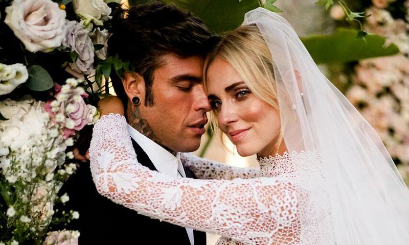 El vestido de novia de Chiara Ferragni, una oda al romanticismo