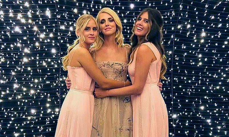 De princesa a bailarina rockera: no te pierdas el último diseño de Chiara Ferragni en su boda