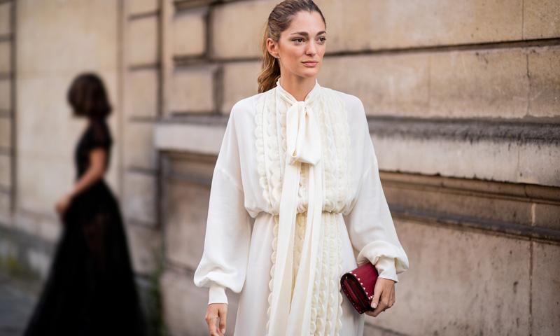 Mangas abullonadas: del 'street-style' a los vestidos de novia