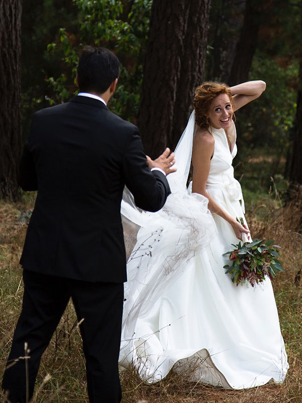 f77455166 El vestido de boda de María Castro o la conjunción perfecta entre ...
