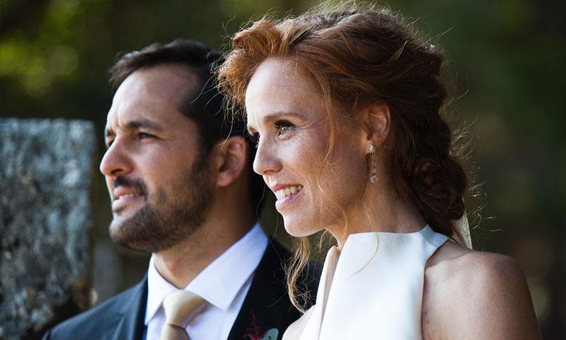 El vestido de boda de María Castro o la conjunción perfecta entre sofisticación y originalidad