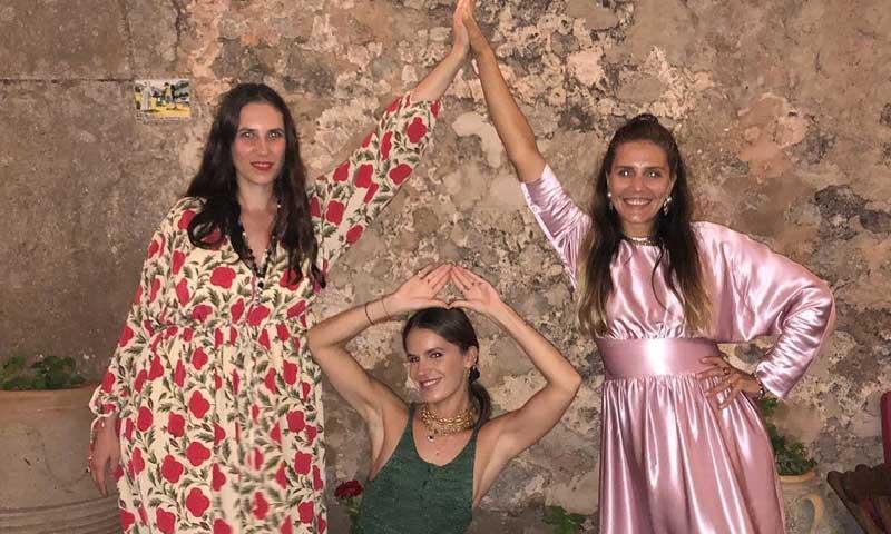 Tatiana Santo Domingo, de boda en Mallorca con sus amigas