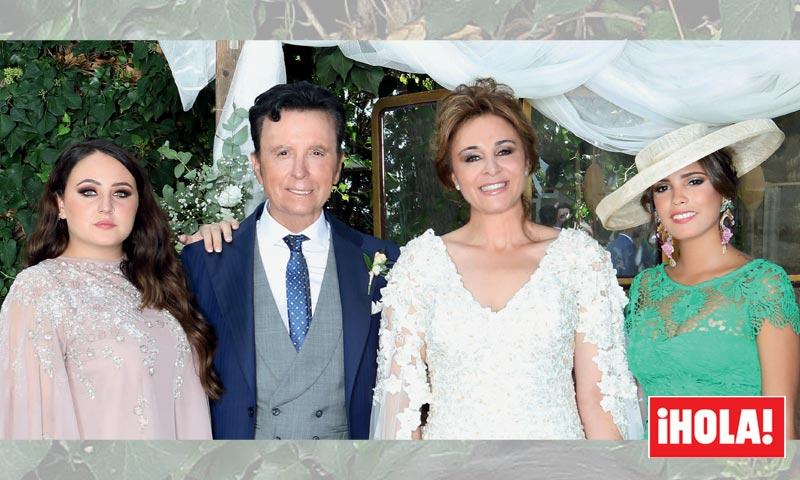 Exclusiva en ¡HOLA!, la boda de José Ortega Cano y Ana María Aldón