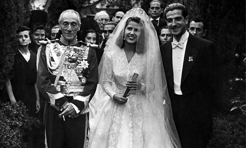 Los vestidos de novia de la Casa de Alba que han pasado a la historia