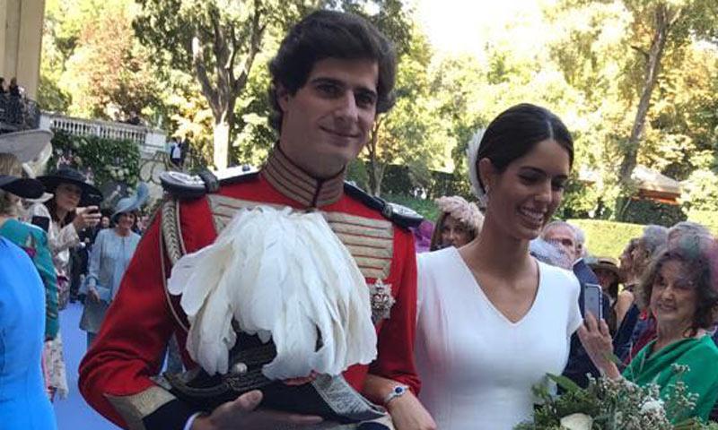 El vestido de novia de Sofía Palazuelo, la versión más moderna de una futura duquesa de Alba