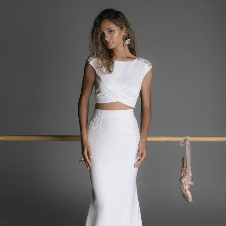 vestidos de novia que demuestran que abdomen es el nuevo escote - foto