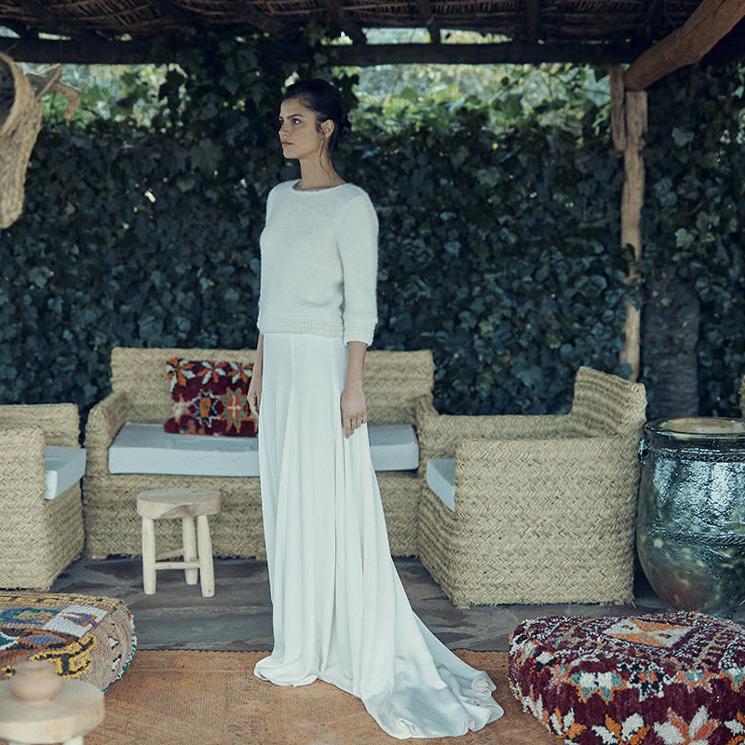 Chaquetas y jerséis, la solución definitiva para las novias de invierno