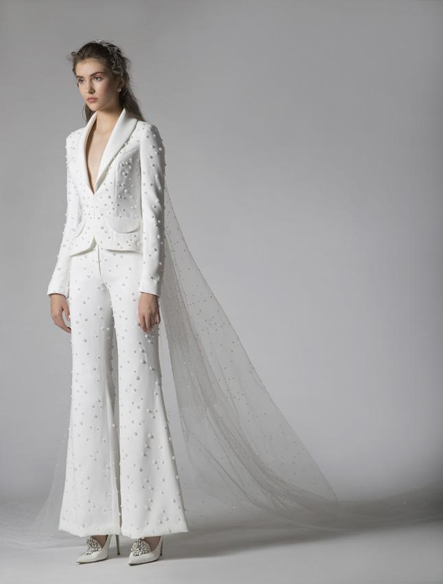 el relevo del vestido de novia: los nuevos trajes de chaqueta