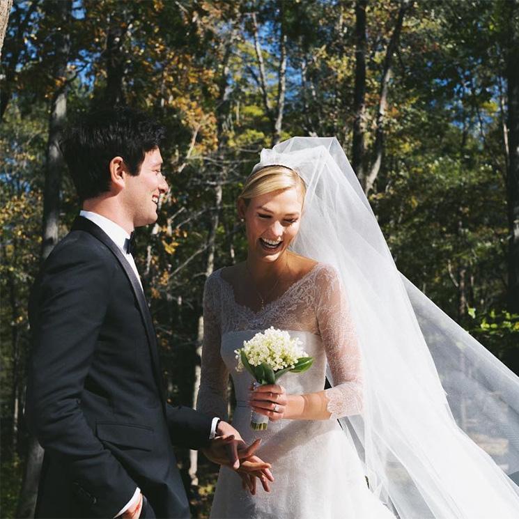 Karlie Kloss se casa por sorpresa en una ceremonia íntima en Nueva York