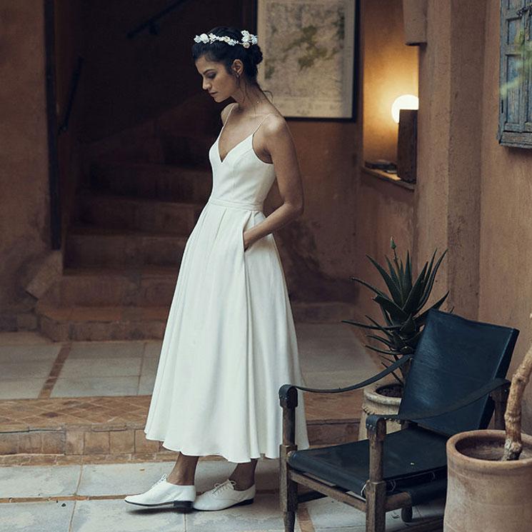 Botines y zapatos tipo 'Oxford' para novias que buscan comodidad