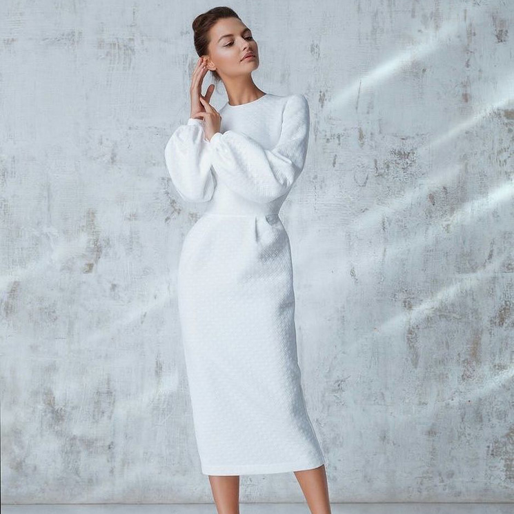 diseño innovador buena reputación garantía de alta calidad Diez vestidos 'midi', el largo favorito de las novias que se ...