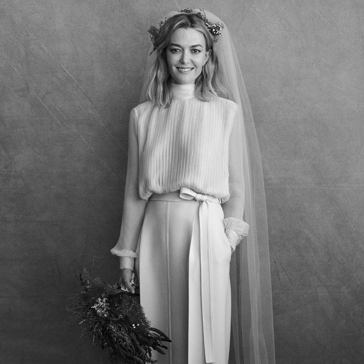 7a0439bfe Marta Ortega elige Valentino y su vestido de novia supera todas las  expectativas