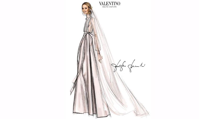 Que significa sonar un familiar vestida de novia