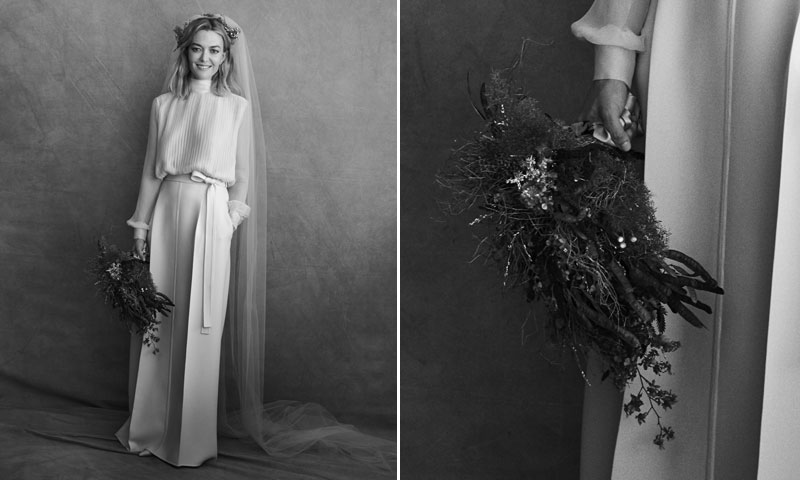 El significado del ramo de novia de Marta Ortega