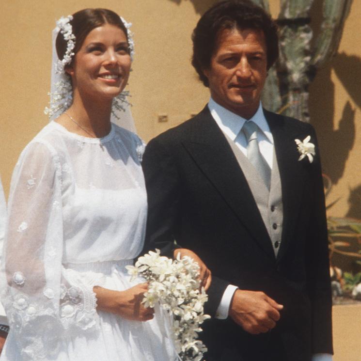 El tocado de novia de Carolina de Mónaco que sigue siendo tendencia 40 años después