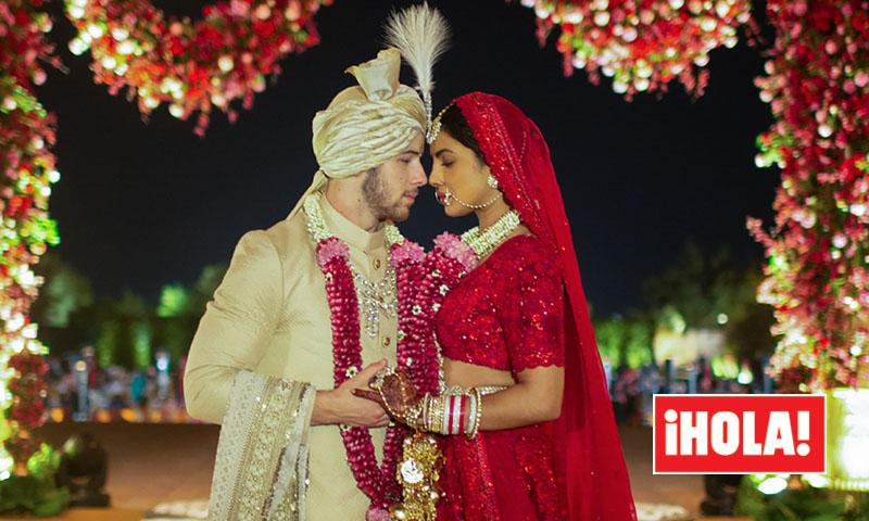 EXCLUSIVA: Tradición y modernidad en el vestido de novia hindú de Priyanka Chopra