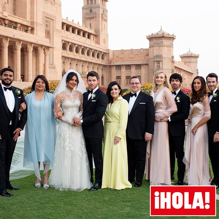 f3bfc16fa4 Boda de Priyanka Chopra y Nick Jonas  los vestidos de las damas de honor