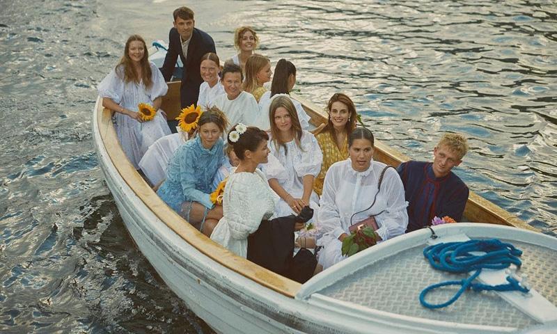 Helena Christensen, la supermodelo que se convirtió en dama de honor