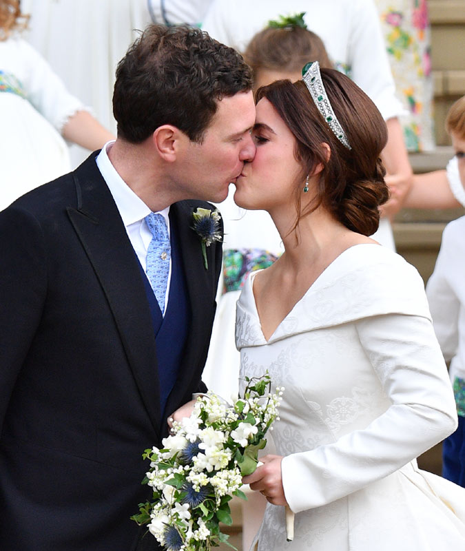 Boda de Eugenia de York y Jack Brooksbank