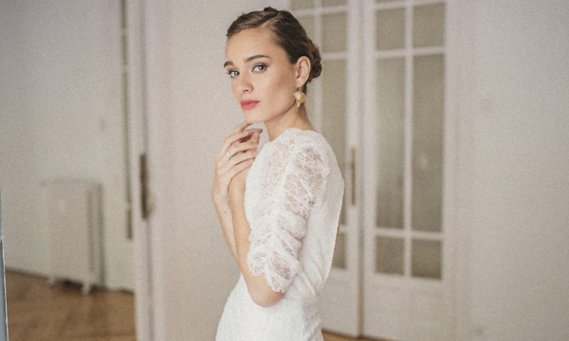 Tendencia 'shirred', los vestidos que saltan de la pasarela al altar