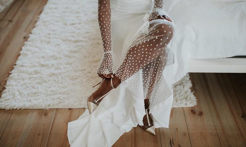 Zapatos con mensaje, la tendencia que invade el mundo nupcial