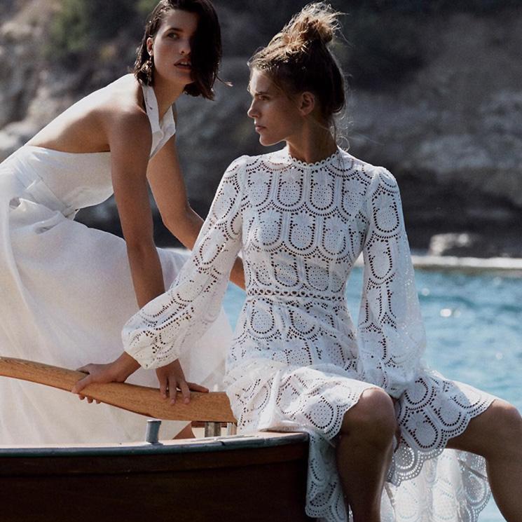 vestidos blancos que toda novia estilosa llevaría en la preboda - foto
