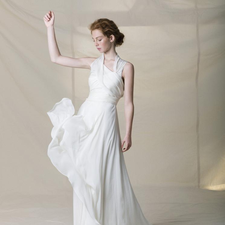 un vestido '3 en 1' y desmontable: el sueño de las novias hecho