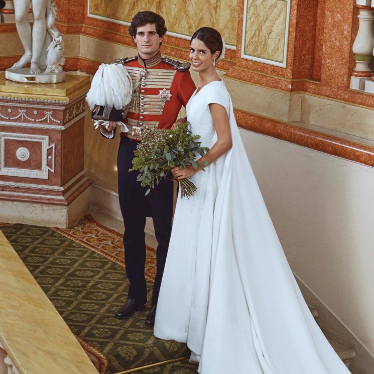 51a5c56030 Sofía Palazuelo inspira los tocados de las nuevas novias e invitadas