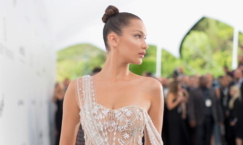 Vestidos de novia con aberturas por los que suspirarían Angelina Jolie y Bella Hadid
