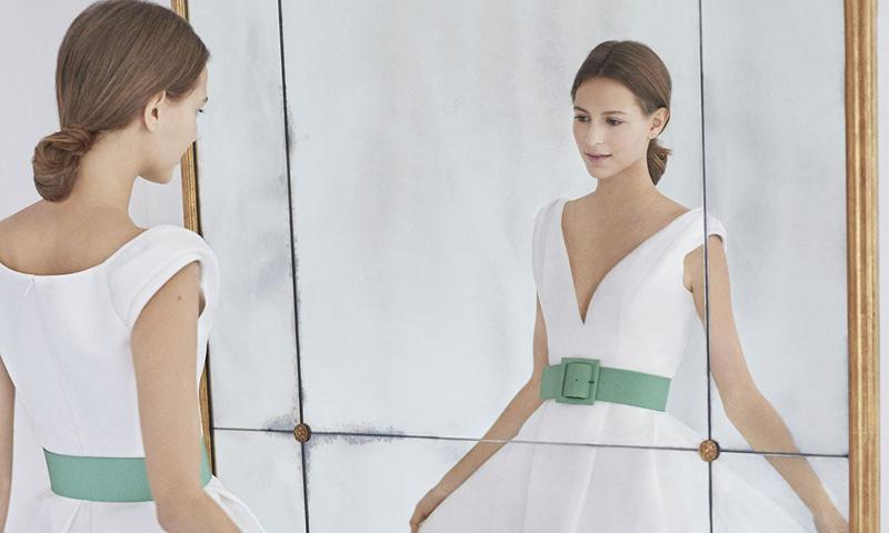 Tendencias de novia 2019: transforma tu vestido con un cinturón y un lazo