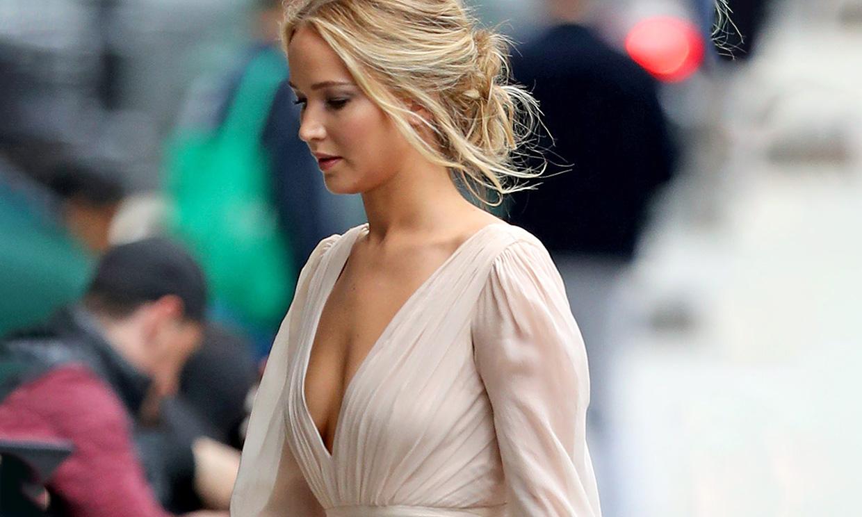 Vestidos rosas que inspiran el look de compromiso de Jennifer Lawrence