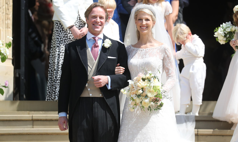 Todos los detalles del espectacular y romántico vestido de novia de Lady Gabriella Windsor